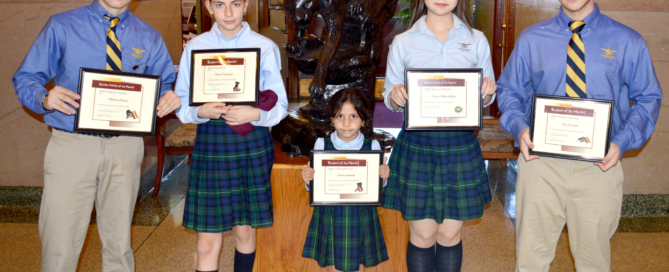 Congratulations to Adelphi Academy of Brooklyn's September Students of the Month!