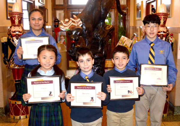 Congratulations to Adelphi Academy of Brooklyn's November Students of the Month!