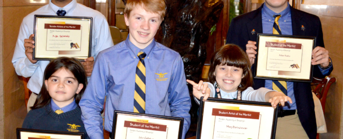 Congratulations to Adelphi Academy of Brooklyn's October Students of the Month!